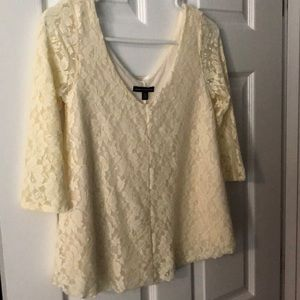 Lace American Eagle top